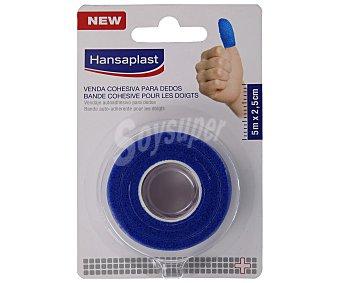Hansaplast Vendaje autoadhesivo de 2.5 cm, para la fijación de apósitos en los dedos 5 M