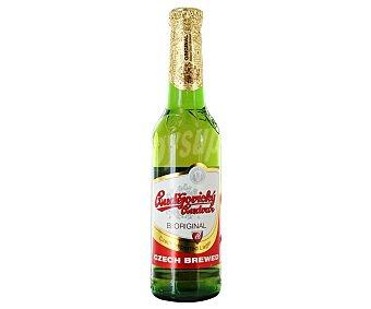BUDEJOVICKY BUDVAR Cerveza checa Botellín 33 cl