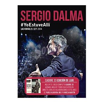 """Sergio Dalma """"directo:yo estuve alli"""" Box Cadore 3CD+DVD 1 ud"""