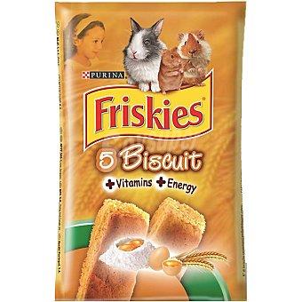FRISKIES BISCUIT Galletas para roedores paquete 30 g 5 unidades