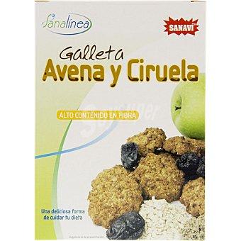 Sanavi Galletas de avena y ciruela alto contenido en fibra estuche 150 g Estuche 150 g