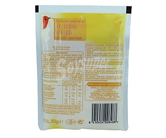 Auchan Queso en polvo fundido 50 gramos