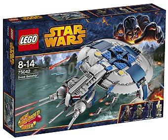 LEGO Juego de Construcción Stars Wars, Implacable Droid Gunship, Modelo 75042 1 Unidad