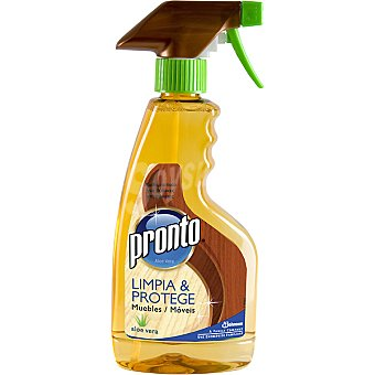 Pronto Limpia muebles de aloe vera limpia y protege pistola 375 ml