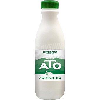 Ato Leche semidesnatada botella 1,5 l 6 unidades