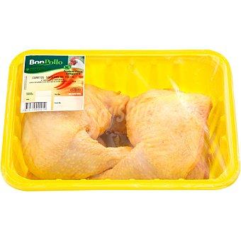 BONPOLLO Traseros de pollo formato ahorro bandeja 1,5 kg peso aproximado 5 kg