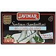Sardinas en aceite de oliva bajo en sal 88 g Javimar