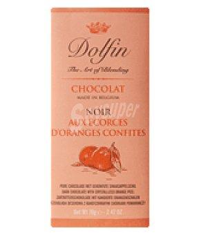 Dolfin Chocolate negro con naranja 70 g