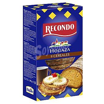 Recondo Pan hogaza con 9 cereales Paquete 240 g