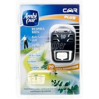Ambipur Ambientador coche respira Pack 1 unid