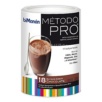 Bimanan Batido hiperproteico sabor chocolate 560 g