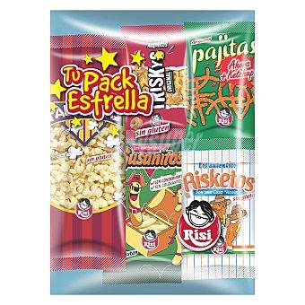 Risi Surtido de snacks sin gluten 125 g
