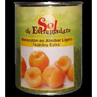 Sol de Extremadura Melocotón en almíbar en Mitades 480 g