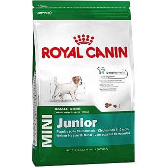 Royal Canin Mini junior pienso para perros junior de razas pequeñas - hasta 10 meses bolsa 2 kg 10 kg