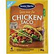 Sazonador de pollo sin gluten y sin lactosa 28 g Santa Maria