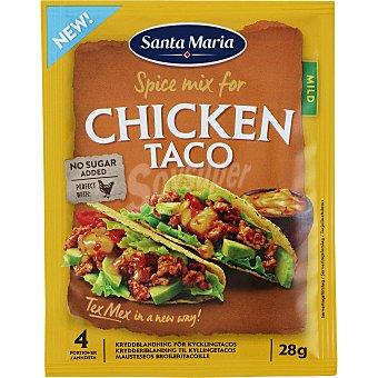 Santa Maria Sazonador de pollo Santa María sin gluten y sin lactosa 28 g