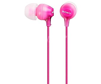 Sony Auriculares tipo Intauricular MDREX15LPPI rosa. con cable rosa. con cable