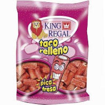 King Regal Taco relleno de pica de fresa Bolsa 100 g