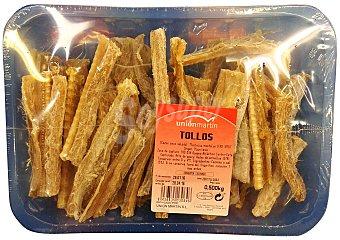 Unión Martín Tollos/cazones secos salados Paquete 500 g