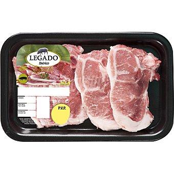 LEGADO IBÉRICO Chuletas de lomo de cerdo ibérico peso aproximado Bandeja 350 g