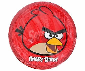 Angry Birds Platos 23cm 10 Unidades