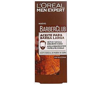 L'Oréal Men Expert Aceite esencial de madera de Cedro, para barba larga 30 ml
