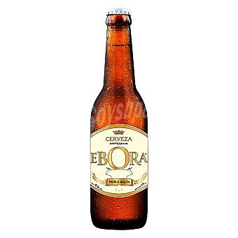 Ebora Cerveza artesana Triple Malta 33 cl