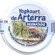 Yogur de cabra natural desnatado Tarro 350 g Arterra