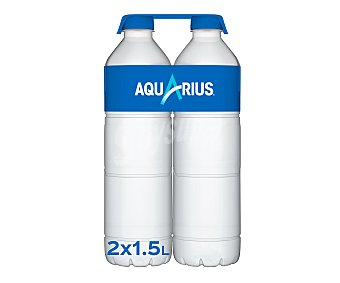 Aquarius Aquarius sabor limón Pack de 2 botellas de 1,5 l