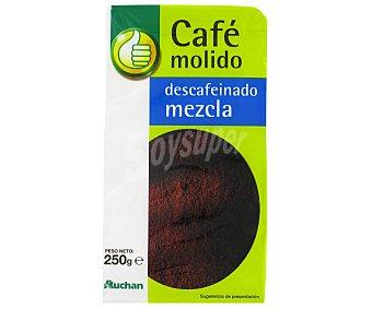Productos Económicos Alcampo Café Molido Descafeinado Mezcla 250 Gramos