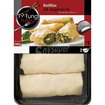 Ta Tung Rollitos de espinacas Bandeja 240 g