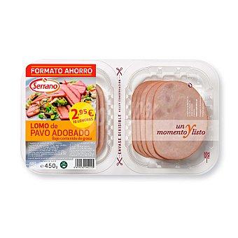 Serrano lomo de pavo Bandeja 450 gr