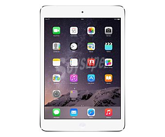 "iPAD MINI BLANCO Tablets con pantalla de 7,9"" apple ipad mini MD531TY/A Blanco, procesador: A5, almacenamiento: 16GB, resolución: IPS 1.024 x 768, cámara frontal y trasera, grabación de vídeo: 1080p, wifi, Bluetooth, iOS 7. (239,00€/UN ) Tablet 7,9"" wifi"