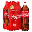 Refresco de cola Pack 4 botellas de 2 l Coca-Cola