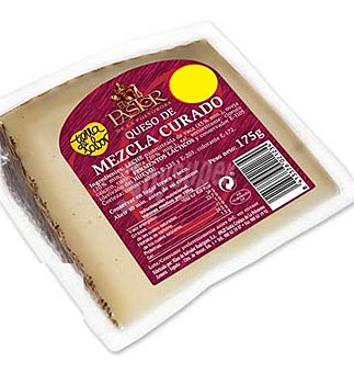 El Pastor Queso cuña mezcla curado 175 g