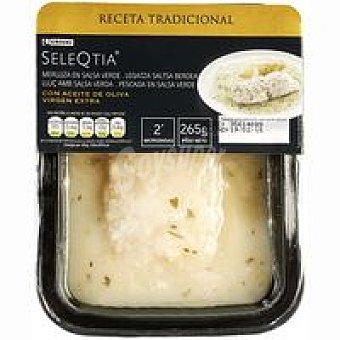 Eroski Seleqtia Merluza en salsa verde Bandeja 265 g