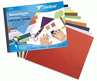 Sadipal Bloc Papel Manualidades Cartulina 1u