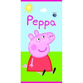 PEPPA PIG Toalla de playa infantl con dibujo de