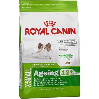 ROYAL CANIN X-SMALL AGEING + 12 alimento especial para perros de + 12 años de edad y peso menos de bolsa 15 kg 4 kg