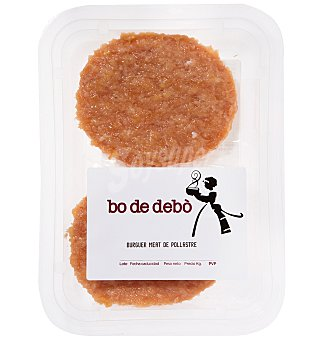 Bo de Debo Burguer pollo x 2 180 G
