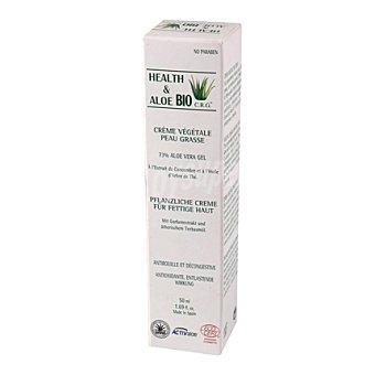 Health & Aloe Bio Crema vegetal con Aloe Vera para piel grasa 50 ml