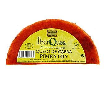 IBERQUES Queso de cabra semicurado al pimentón de Extremadura 450 gramos