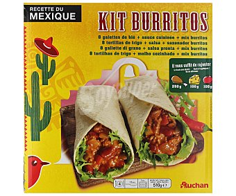 Auchan Burritos kit 620 g