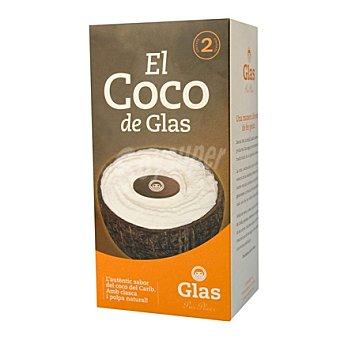 Glas Helado coco 2 ud