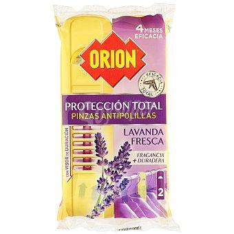 Orion Pinza antipolilla perfume lavanda Paquete 2 u