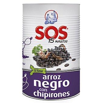 Sos Arroz negro con chipirones 955 g