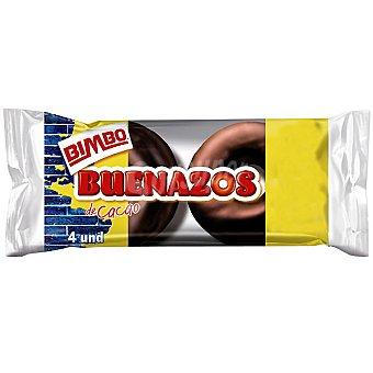 Bimbo Buenazos de cacao envase 200 g 4 unidades