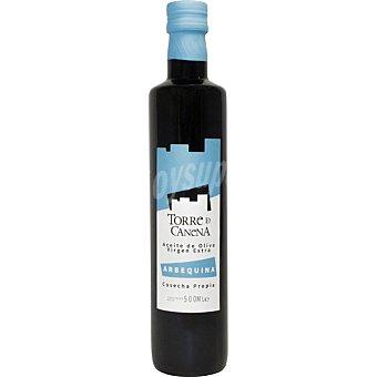 Torre de canena Aceite de oliva virgen extra Arbequina Cosecha Propia botella 500 ml botella 500 ml