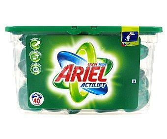 ARIEL EXCEL Detergente en Cápsulas Regular 40 Dosis