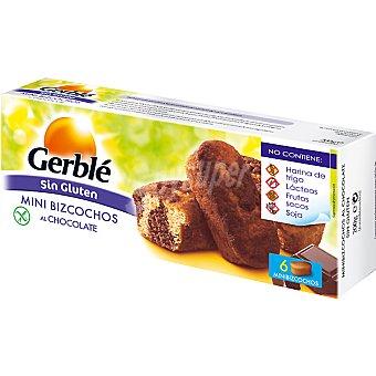 Gerble Mini bizcochos al chocolate Envase 200 g